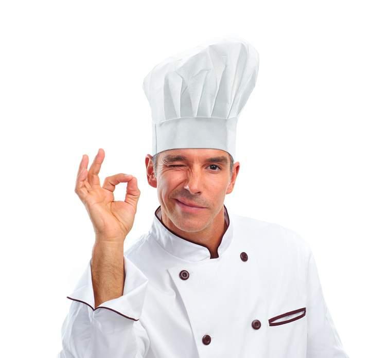 Chef (Séf) kalap / szakács sapka