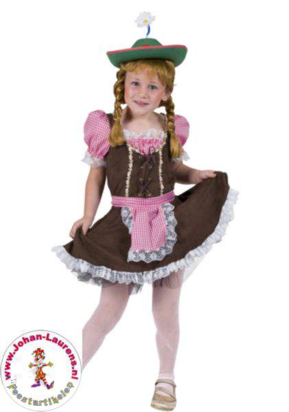 Tiroli / bajor lány ruha -152-es méret
