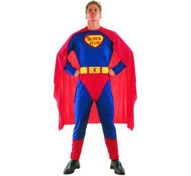 Superman jelmez (52/56-os méret)
