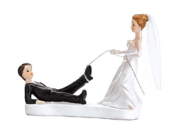esküvői tortadísz , 13 cm-PF16
