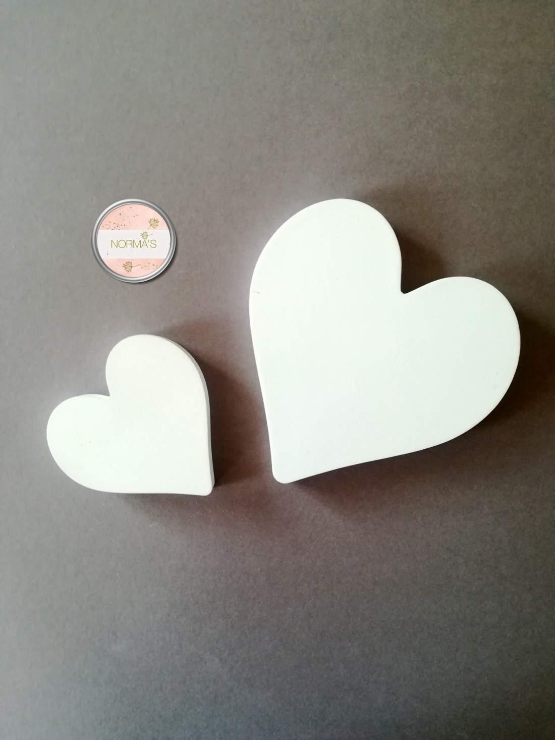 Falra, polcra, fa dekoráció, szív, fehér