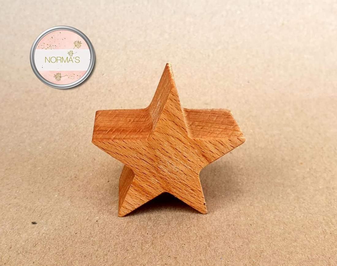 Csillag, bükkfa, dekoráció